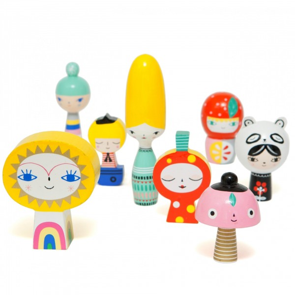petit monkey, mr sun and friends, wooden toys, kids room, kids deco, babies room, petit monkey, cow makes moo, eco friendly, kids