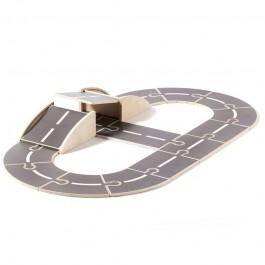 αυτοκινητοδρομος παιχνιδι, ξυλινα παιχνιδια, παιχνιδια για αγορια, οικολογικα παιχνιδια
