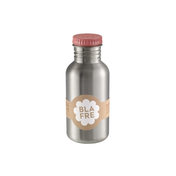 blafre Steel Bottle 500ml - Pink, bottle for the water, back to school, accessories for kids, blare, bpa free