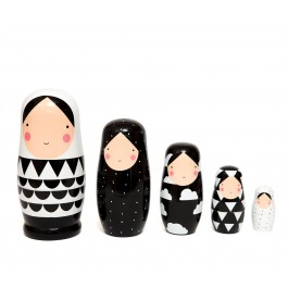 petit monkey, nesting dolls, wooden toys, kids room, kids accessories, present for kids, petit monkey