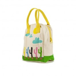 Zipper Lunch Bag - Cactus, eco friendly, kids accessories, lunch boxes, lunch bags, accessories for school,