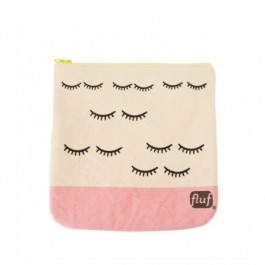 Zipper Pouch -Wink Blush, kids accessories, eco friendly, lunch box